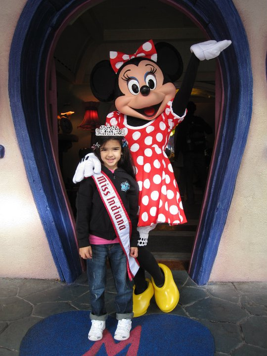NAM Winner at Disney Land