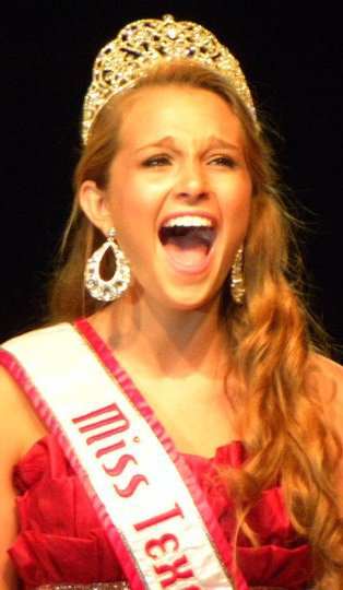 2009 National American Miss Texas Jr Teen Danielle Doty
