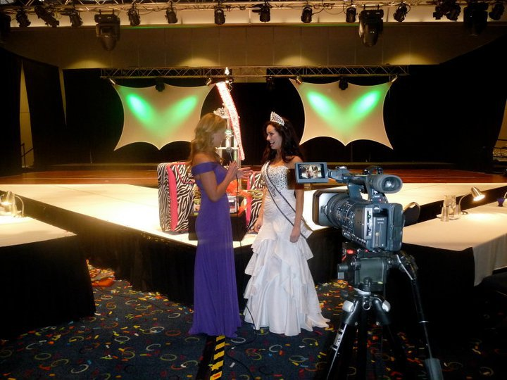 National American Emcee and Actress, Joy Suprano interviews the 2010-2011 National All-American Miss Teen, Alexandra Curtis.