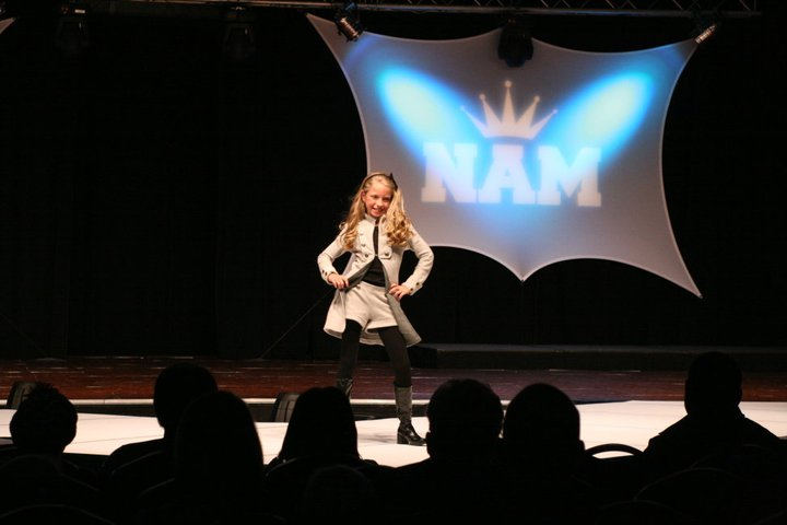 National American Miss Casual Wear Modeling
