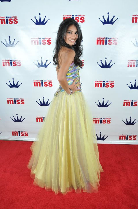 National American Miss Red Carpet