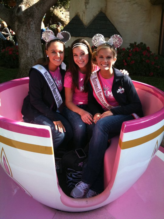National American Miss National Pageant in Disney Land!